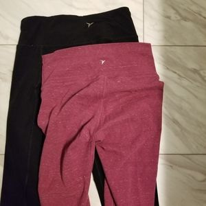 2 Old navy capri active leggings